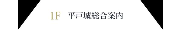 1F  平戸城総合案内